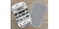 Papiers hygiéniques lavables - Écotidien -  animaux de la forêt
