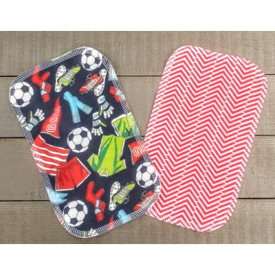 """Papiers hygiéniques lavables - Écotidien -  """"Goal!"""""""