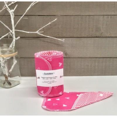 Papiers hygiéniques lavables - Écotidien -  St-Valentin