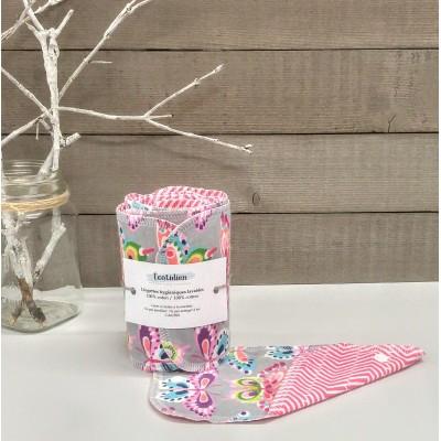 Papiers hygiéniques lavables - Écotidien -  papillons