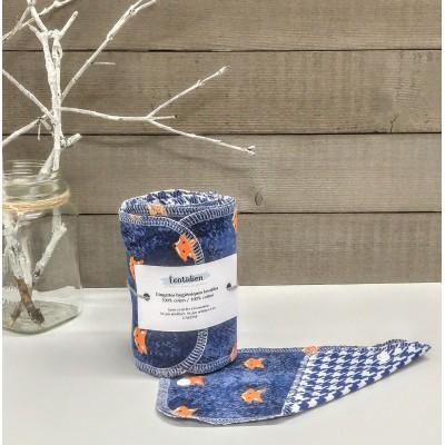 Papiers hygiéniques lavables - Écotidien -  renards