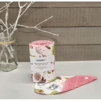 Papiers hygiéniques lavables - Écotidien -  cactus