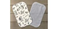 Papiers hygiéniques lavables - Écotidien -  ours en camping
