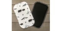 Papiers hygiéniques lavables - Écotidien - le loup, l'ours et le cerf