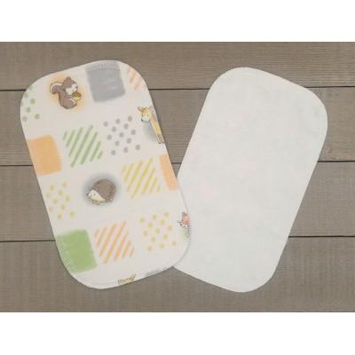 Papiers hygiéniques lavables - Écotidien -  petits animaux