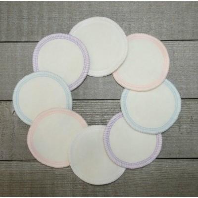 Tampons démaquillants - Écotidien - fil multicolore