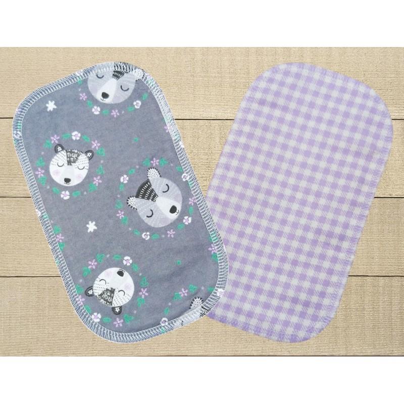 Papiers hygiéniques lavables - Écotidien -  loutres