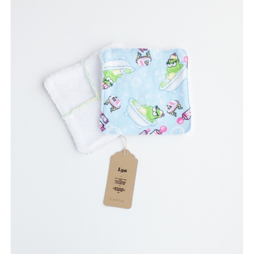 d barbouillette grenouilles dans le bain boutique lya. Black Bedroom Furniture Sets. Home Design Ideas
