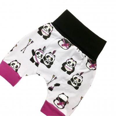 Shorts sarouels évolutifs pandas